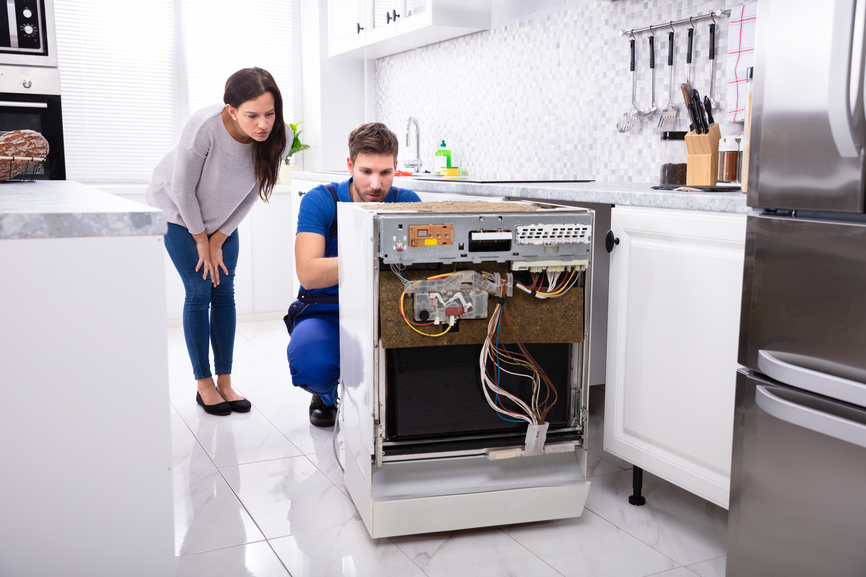 dishwasher repair service okc